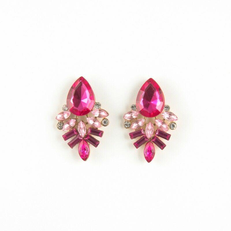Design Lady Pink fülbevaló