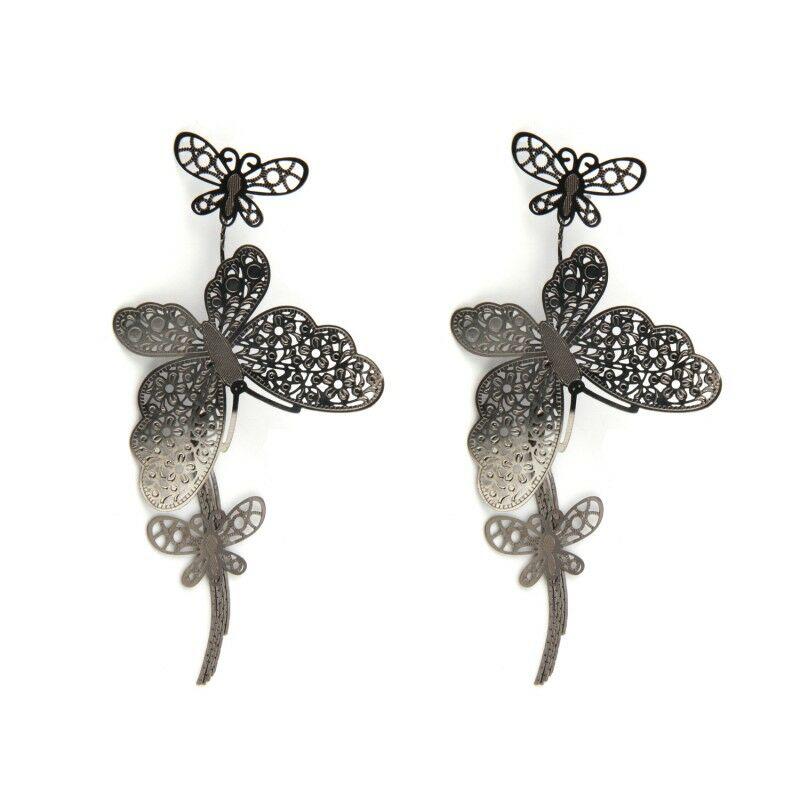 Pillangós hosszú fülbevaló