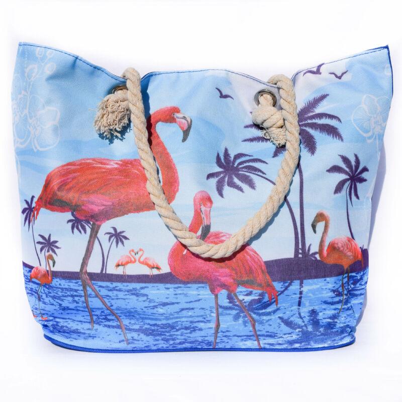 Flamingós Pálmafás Vászontáska