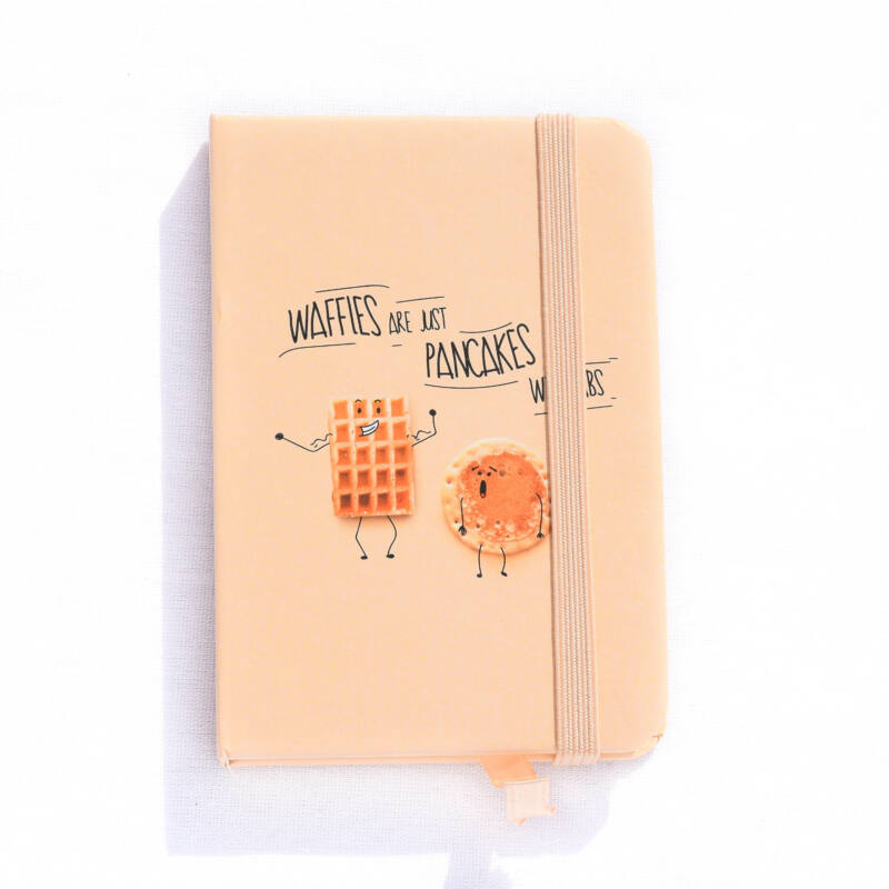 Waffles are just pancakes with ABS notesz A7