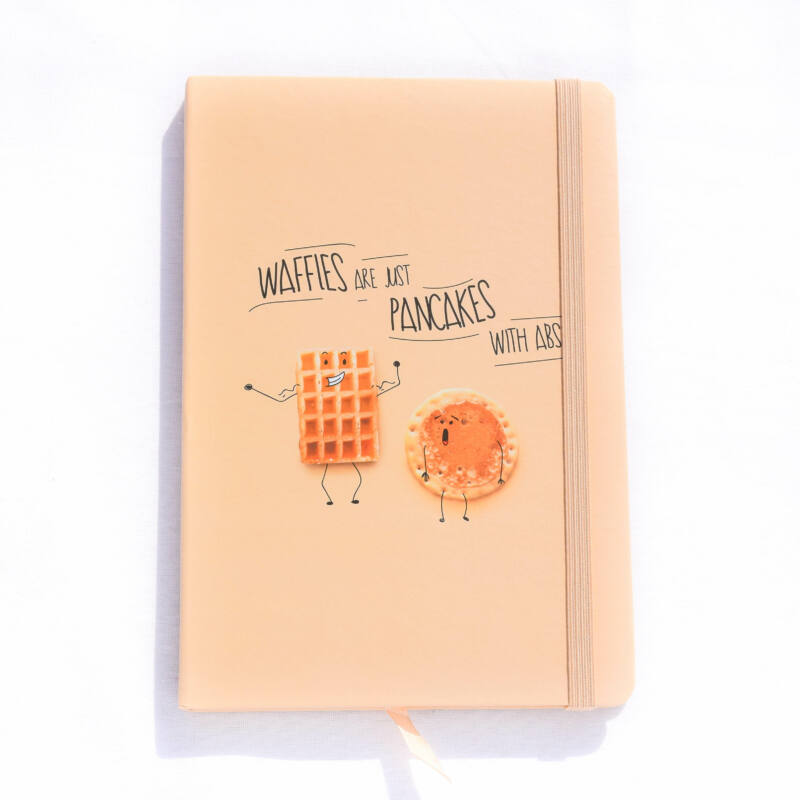 Waffles are just pancakes with ABS  notesz A5